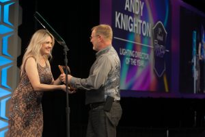 Andy Knighton wins for work with Rascal Flatts