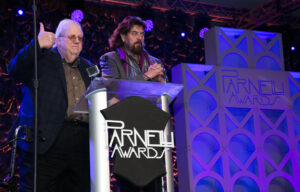 George Peterson and Alan Parsons were presenters