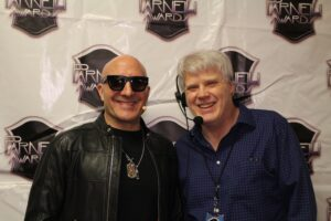 Host Kenny Aronoff and SM James Leasing