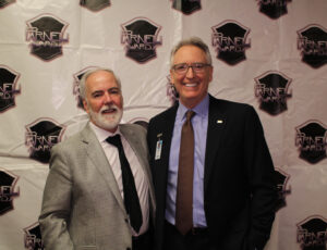 Parnelli Producer Terry Lowe and NAMM President Joe Lamond