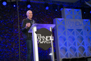 Parnelli Visionary Award Honoree Yvan Miron speaks