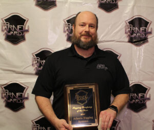 Rigging Company of the Year Atlanta Rigging accepted by Jason Adams